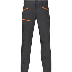 Bergans Brekketind Pants Men solid charcoal/pumpkin